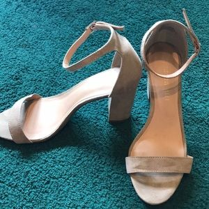 Madden Girl shoes , Nude